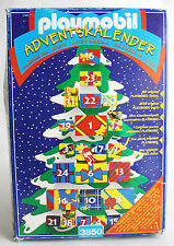 1997 PLAYMOBIL 3850 CHRISTMAS TREE ADVENT CALENDAR ADVENTSKALENDER NEW SEALED !