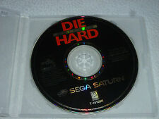 SEGA SATURN VIDEO GAME DISC ONLY DIE HARD ARCADE RARE