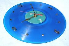 Clock made w/a LANA DEL REY Record / Ultraviolence / Blue Vinyl LP Wall Clock
