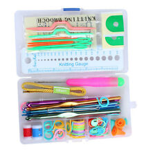 Knitting Tool Knit Set Crochet Needle Hook Accessories Supplies With Case Hot