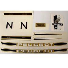 Peugeot complete set of decals fold-up vintage