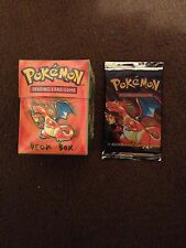 Charizard Base Set Booster And Deck Box,Collector,Christmas Gifts 1999