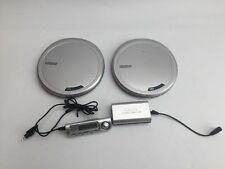 X2 Philips AX7201 Portable CD Player - Ultra Slim Magnesium With Remote