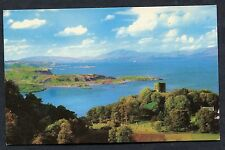 C1970's View of Shepherds Hut & Mountains of Mull from above Dunollie Castle