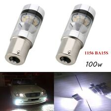 2X 1156 BA15S P21W 100W CREE 20SMD LED Projector Turn Signal Backup Reverse Bulb