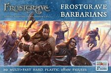 North Star Miniatures Frostgrave Barbarians 20 Multi-Part Hard Plastic 28mm Figs