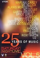 Saturday Night Live - 25 Years of Music Vol. 5 u.a Metallica, U2, Mariah Carey