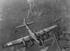 US Air Force B-17 Bombing Focke Wulf Plants Marienburg 1943 World War 2, 5x4""