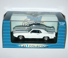 Pontiac Firebird Trans Am (1969) White & Blue - 711 Collection Model Scale 1:43