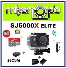 SJCAM SJ5000X WiFi Action (Black) + Monopod + Sandisk 16GB + Batt+Charger + Bag