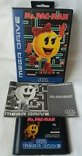MS. PAC-MAN Sega Megadrive Game - Complete - PAL - Fast Free UK Post