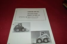 New Holland L225 L-445 Skid Steer For 1975 Sale Training Manual Manual DCPA5