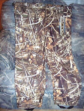 Camo Hunting Pants Insulated Pants 3X Water Proof Extreme Cold Weather Duck Camo