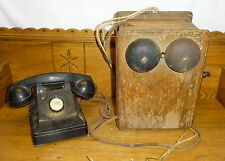 Antique Intercom Office Phone Western Electric Ringer Box - Rising Sun Maryland