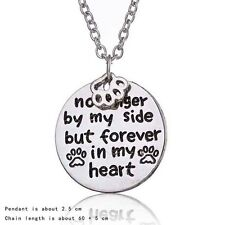 Nice No Longer By My Side But Forever In My Heart  Pendant Necklace Chain Gift