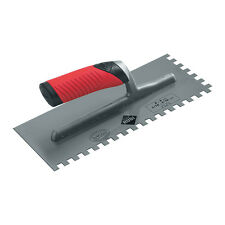 Rubi 12mm Stainless Steel Notched Trowel Tiling Tools - 74942
