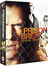 Prison Break - Series 3 - Complete (DVD, 2008, 4-Disc Set)