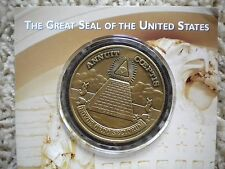 Great Seal Of the United States Bronze medallion Bureau of Engraving