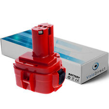 Batterie 12V 3000mAh pour MAKITA 4000 Series 4013D 4191D 4191DWA 4191DZ 4331D