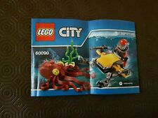Lego 60090 Deep Sea - INSTRUCTIONS ONLY / NO BRICKS