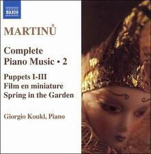 Martinu: Complete Piano Music, Vol. 2 (CD, Naxos (Distributor))