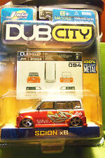 Muscle Machines Dub City Scion XB Red & Silver, Graphic Art & 5 Hole Rims C More