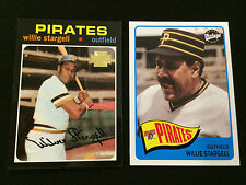 2 WILLIE STARGELL 1971 TOPPS ARCHIVES & 1965 BASEBALL CARDS PITTSBURGH PIRATES