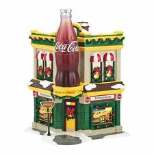 DEPT 56 SNOW VILLAGE ~  COCA-COLA CORNER FOUNTAIN    # 4036564   MID YEAR   HTF