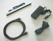 USA: New Wii U Complete Hookup Connection HDMI AV Cable Power Cord Sensor Bar
