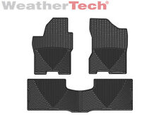 WeatherTech® All-Weather Floor Mats for Nissan Titan - 2008-2015 - Black