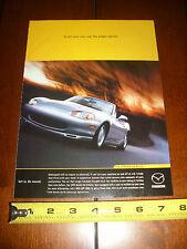 1999 MAZDA MIATA MX-5 - ORIGINAL AD