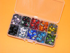 SS30 (6.5mm) Hotfix Crystal Rhinestones Mixed Colour Box - FREE POSTAGE