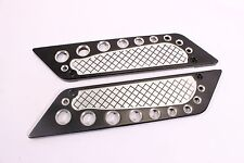 Billet CNC Aluminum  Saddlebags Latch Cover Face 4 Harley Touring 93-13
