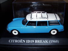 Voiture 1/43 IXO voitures d'antan : CITROËN ID 19 BREAK 1960