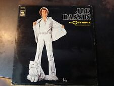 Vinyle 33 tours - Joe Dassin - A l'Olympia