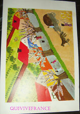 MN325 - MENU CAMEROON AIRLINES 1974 VOL DOUALA - PARIS