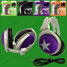 Coloured Foldable Stereo Headphones, DJ Style, 3.5mm, PC, MP3, MP4, iPod iPhone