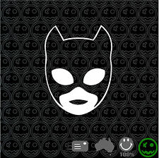 CATWOMAN STICKER DECAL BATMAN 100mm High TV Laptop Ipad Car Ute Wall Art Mac