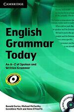 Cambridge ENGLISH GRAMMAR TODAY An A-Z of Spoken & Written Grammar w CD-ROM @New