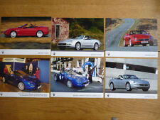 MASERATI SPIDER OFFICIAL PRESS PHOTOS -  BROCHURE jm