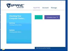 Vipre Antivirus 2017  , 1 PC license for 1 Year.
