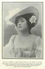 1900 Miss Lily Hanbury As Simon Dale's Lover Prince Of Wales