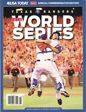 USA Today 2010 WORLD SERIES TEXAS RANGERS v San Francisco Giants SPECIAL EDITION