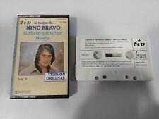 NINO BRAVO LO MEJOR VOL 3 - 1980 CINTA TAPE CASSETTE TIP SPANISH ED PAPER LABEL