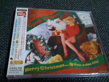 CYNDI LAUPER / merry christmas.,/JAPAN LTD CD OBI NEW