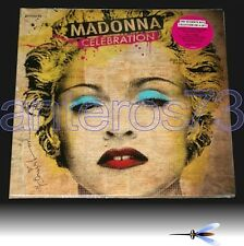 "MADONNA ""CELEBRATION"" RARE BOX 4 LP LIMITED ED USA - SEALED"