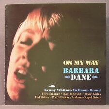 On My Way by Barbara Dane CD Dreadnaught Music Re-issue of 1961 Recording