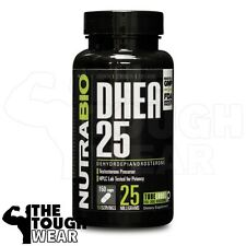 NUTRABIO - DHEA 25mg 150caps - Testosterone Booster - Increases Muscle Strength