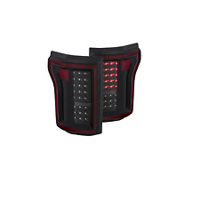 Anzo 311261 Pair of Black LED Tail Lights for Ford F-150