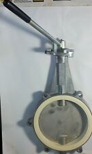 """EBRO 10"""" Butterfly Container valve BE 250 W/ drain bolt lock DN250"""